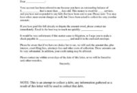 Awesome Demand Letter Template For Money Owed