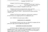 Awesome Partner Buyout Agreement Template