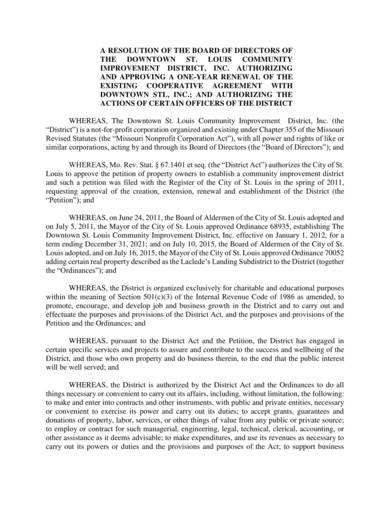 Awesome Resolution Agreement Template