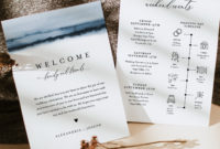 Awesome Welcome Bag Letter Template