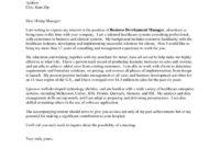 Best Public Health Cover Letter Template