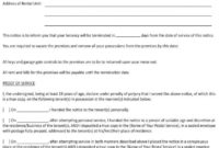 Fantastic 30 Day Notice Contract Termination Letter Template