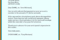 Fantastic Late Payment Letter Template