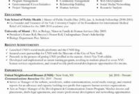 Fascinating Public Health Cover Letter Template