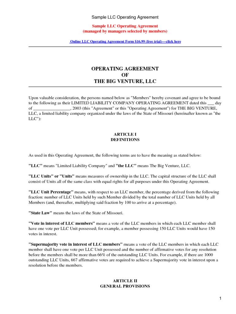 New Maryland Separation Agreement Template