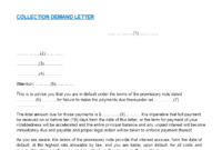 Professional Debt Recovery Letter Of Demand Template