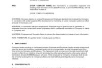 Simple Business Non Compete Agreement Template