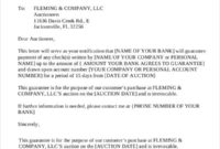 Simple Guaranteed Payment Agreement Template