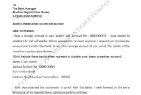 Stunning Account Closure Letter Template