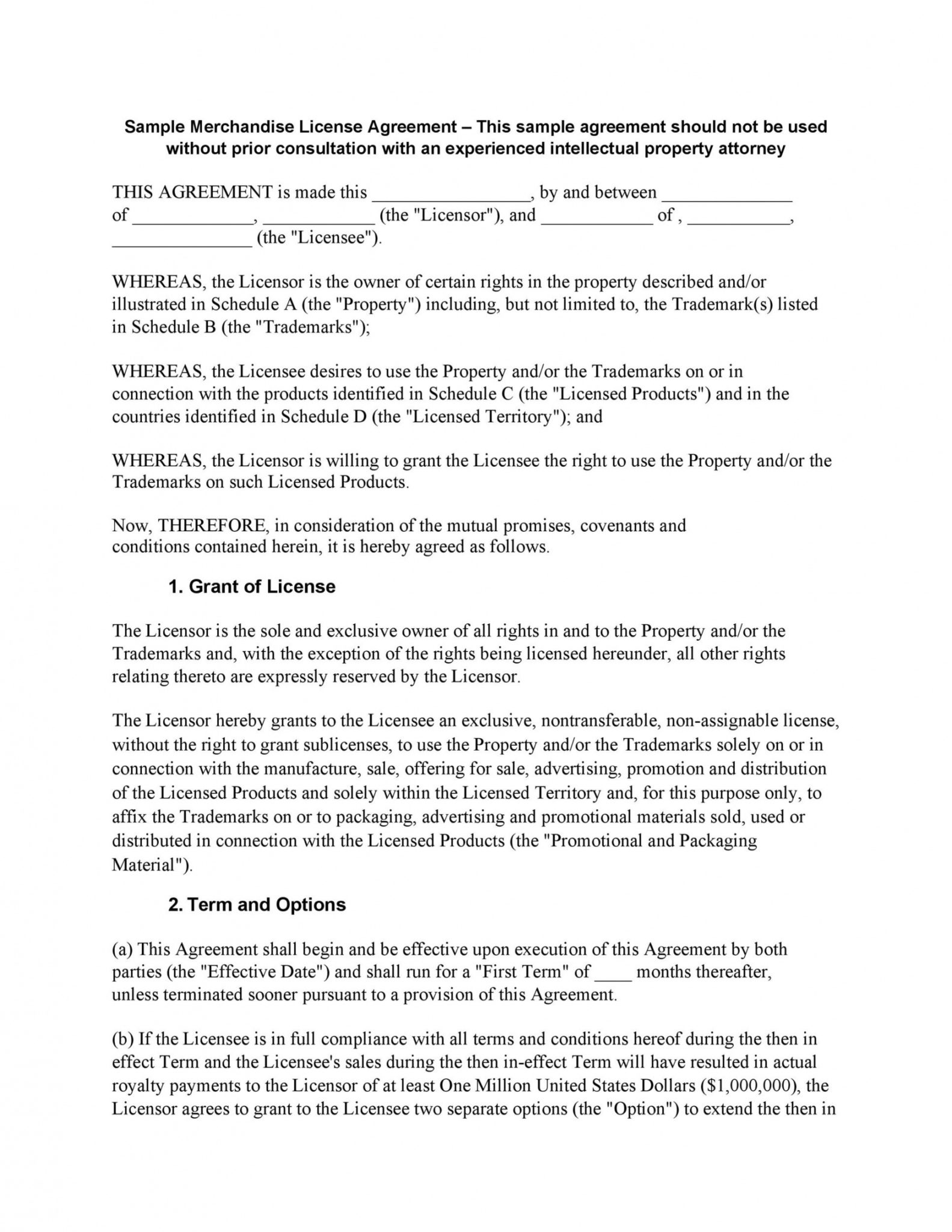 Stunning Product License Agreement Template