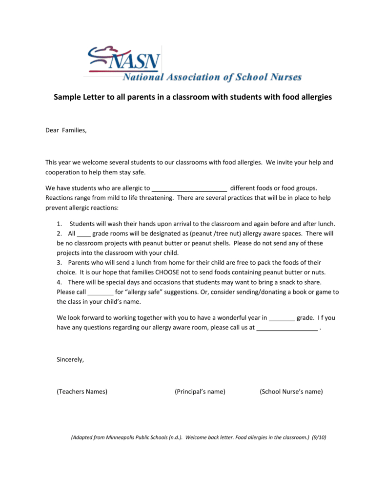 Stunning Welcome Back Letter Template