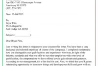 Top Employment Counter Offer Letter Template