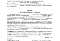 Top Limited Liability Company Agreement Template
