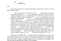 Top Medical Bill Settlement Letter Template