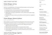 Amazing Management Position Resume Template
