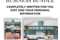 Amazing Real Estate Listing Presentation Template