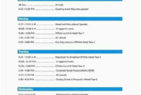 Awesome Agenda Template Word 2007