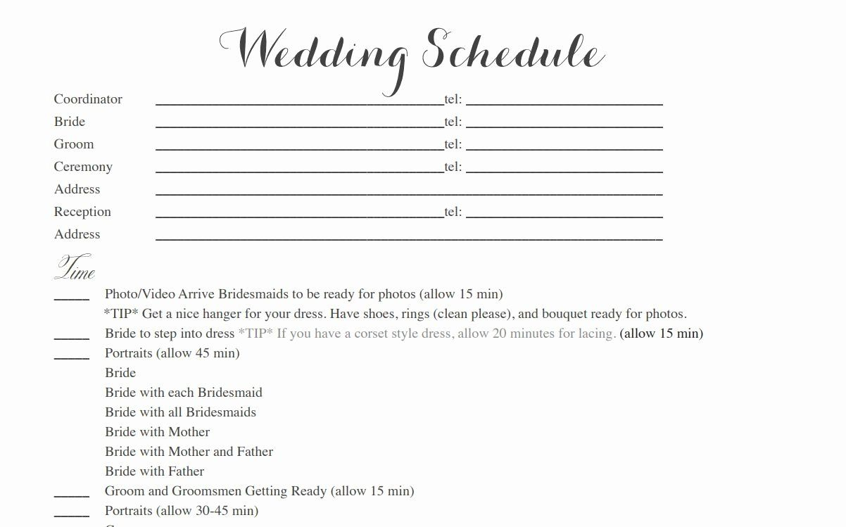 Awesome Honeymoon Itinerary Template