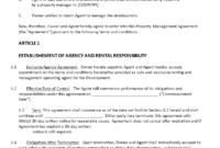 Fantastic Asset Management Agreement Template