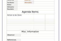 Fantastic Conference Agenda Template