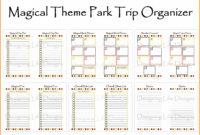 Fantastic Daily Vacation Itinerary Template