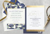 Fantastic Groundbreaking Ceremony Agenda