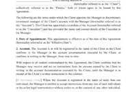 Fascinating Asset Management Agreement Template