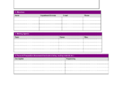 Fresh Simple Meeting Agenda Template