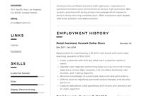 New Retail Management Resume Template