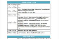 Professional Vendor Meeting Agenda Template